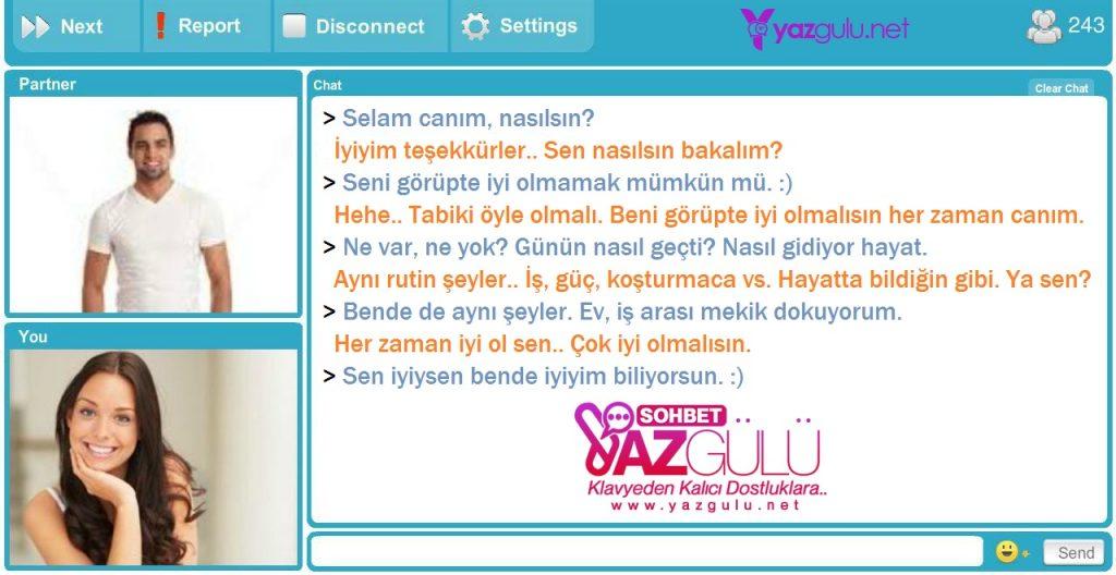 Chat Rulet Videolu Görüntülü Canlı Sohbet | YazGulu.Net